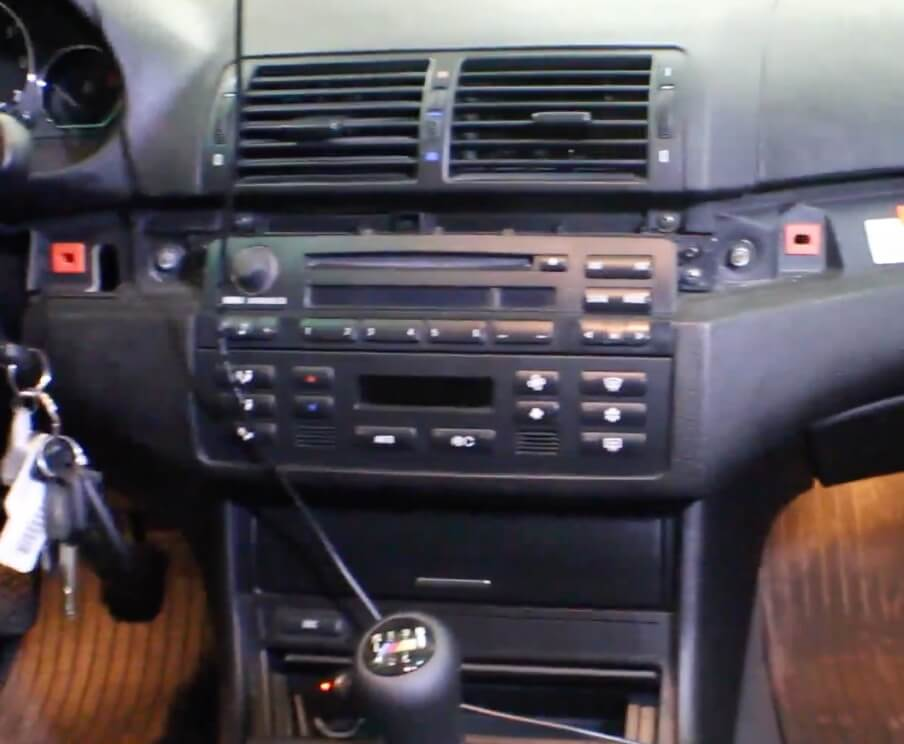 bmw 3 series radio removal and install shiftaholics. Black Bedroom Furniture Sets. Home Design Ideas