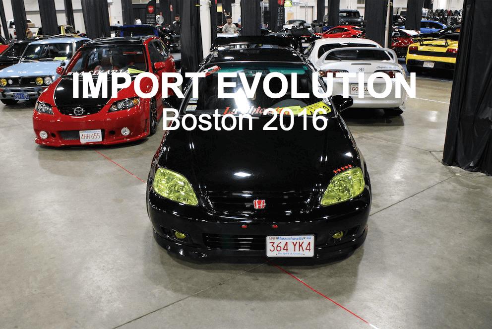 Auto Show 2016 Part 1 Import Evolution Boston Ma
