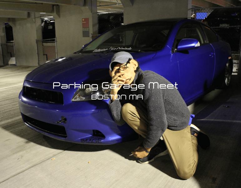 Parking Garage Car Meet Boston 2016